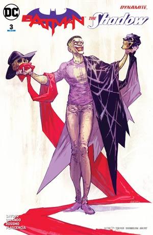 Batman The Shadow #3 Cover A Regular Riley Rossmo Cover