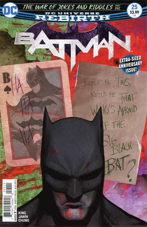Batman Vol 3 #25 Cover A 1st Ptg Regular Mikel Janin Cover