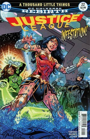 Justice League Vol 3 #22 Cover A Regular Bryan Hitch Cover