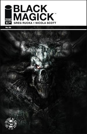 Black Magick #6 Cover B Variant Liam Sharpe Cover
