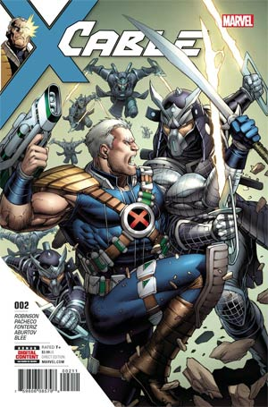 Cable Vol 4 #2 Cover A Regular Dale Keown Cover