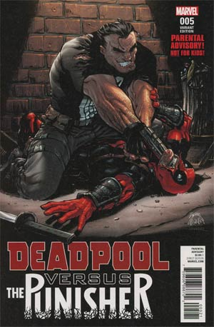 Deadpool vs Punisher #5 Cover B Variant Ryan Stegman Cover