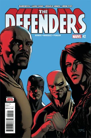 Defenders Vol 5 #2 Cover A Regular David Marquez Cover