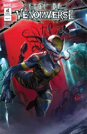 Edge Of Venomverse #1 Cover A Regular Francesco Mattina Cover
