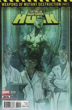 Totally Awesome Hulk #20 Cover A 1st Ptg (Weapons Of Mutant Destruction Part 2)