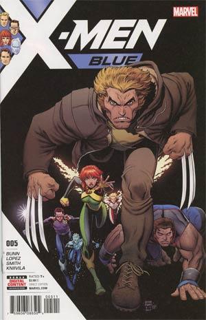 X-Men Blue #5 Cover A Regular Arthur Adams Cover
