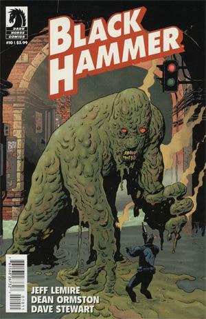 Black Hammer #10 Cover A Regular Dean Ormston Cover