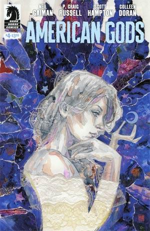 American Gods Shadows #4 Cover B Variant David Mack Cover