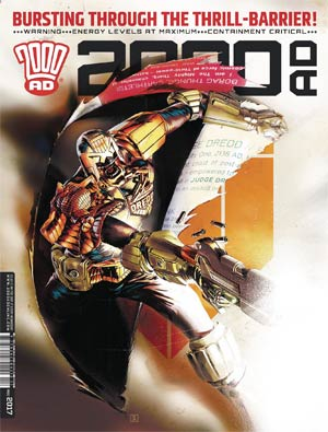 2000 AD #2034 - 2037 Pack June 2017
