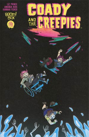 Coady And The Creepies #4 Cover A Regular Kat Leyh Cover