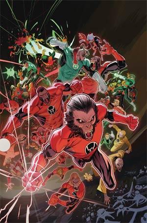 Planet Of The Apes Green Lantern #5 Cover A Regular Dan Mora Cover