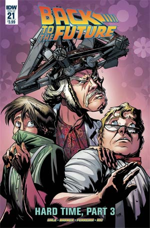 Back To The Future Vol 2 #21 Cover A Regular Marcelo Ferreira Cover