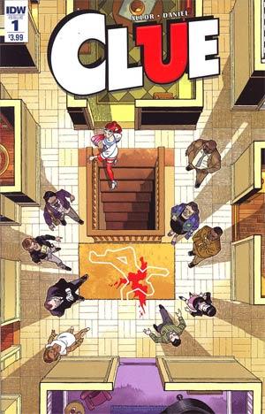 Clue #1 Cover A Regular Gabriel Rodriguez Cover