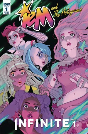 Jem And The Holograms Infinite #1 Cover A Regular Stacey Lee Cover (Infinite Part 1)