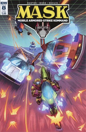 M.A.S.K. Mobile Armored Strike Kommand #8 Cover C Variant Vincenzo Federici Subscription Cover