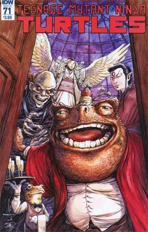 Teenage Mutant Ninja Turtles Vol 5 #71 Cover A Regular Dave Wachter Cover