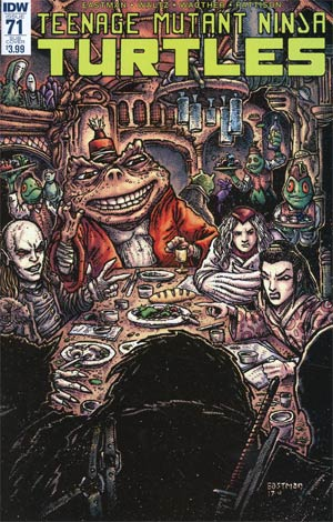 Teenage Mutant Ninja Turtles Vol 5 #71 Cover B Variant Kevin Eastman Subscription Cover