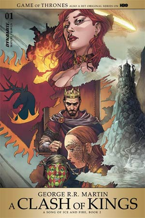 Game Of Thrones Clash Of Kings #1 Cover A Regular Mike Miller Cover