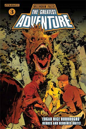 Greatest Adventure #3 Cover A Regular Cary Nord Cover