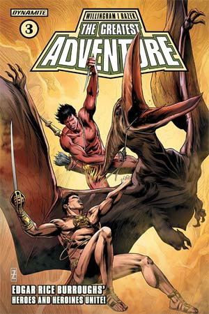 Greatest Adventure #3 Cover B Variant Patrick Zircher Cover