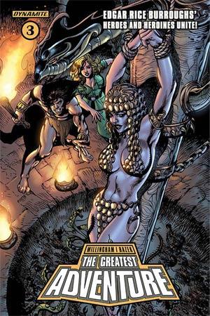 Greatest Adventure #3 Cover C Variant Roberto Castro Cover