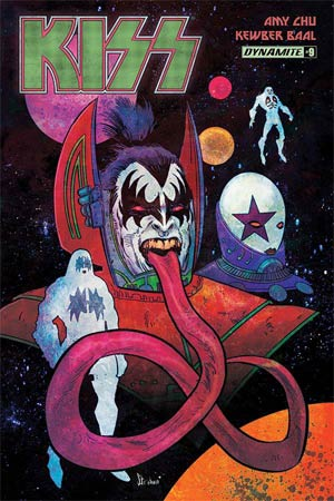 KISS Vol 3 #9 Cover A Regular Kyle Strahm Cover