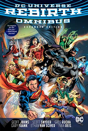 DC Universe Rebirth Omnibus Expanded Edition HC