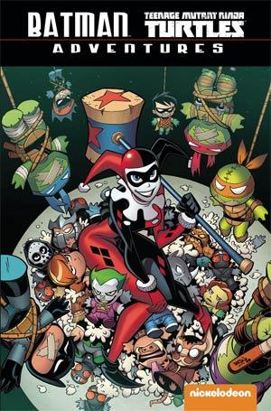 Batman Teenage Mutant Ninja Turtles Adventures TP Direct Market Exclusive Jon Sommariva Variant Cover