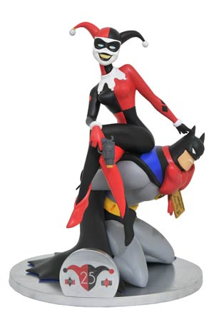 DC Gallery Deluxe Batman The Animated Series Harley Quinn 25th Anniversary PVC Figure