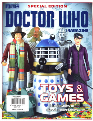 Doctor Who Magazine Special #46 Toys 2017