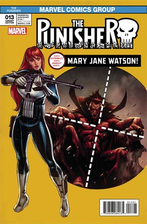 Punisher Vol 10 #13 Cover B Variant David Williams Mary Jane Cover