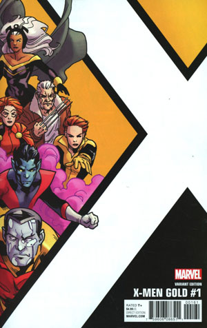 X-Men Gold #1 Cover F Incentive Leonard Kirk Corner Box Variant Cover (Resurrxion Tie-In)