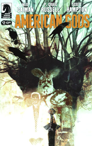 American Gods Shadows #2 Cover C Variant Bill Sienkiewicz Cover
