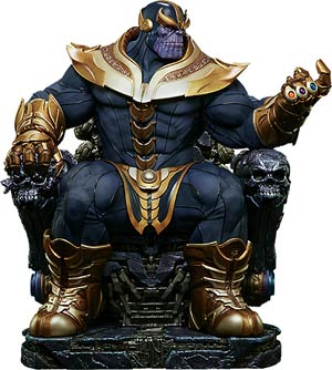 Marvel Thanos On Throne 21.5-inch Maquette Statue
