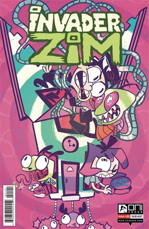 Invader Zim #21 Cover B Variant Caitlin Rose Boyle Cover
