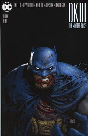 Dark Knight III The Master Race #9 Cover C Midtown Exclusive Greg Capullo Color Variant Cover