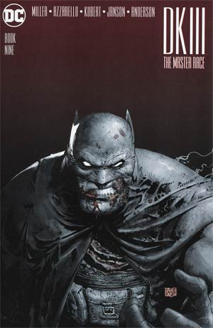 Dark Knight III The Master Race #9 Cover D Midtown Exclusive Greg Capullo Greyscale Variant Cover