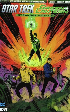 Star Trek Green Lantern Vol 2 Stranger Worlds #5 Cover C Incentive Chris Mooneyham Variant Cover