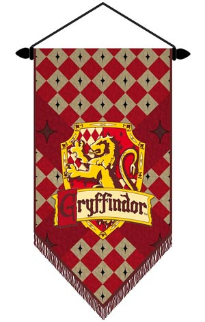 Harry Potter Wall Scroll - Gryffindor