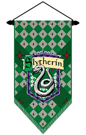 Harry Potter Wall Scroll - Slytherin