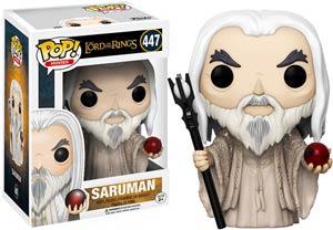POP Movies 447 Lord Of The Rings Saruman Vinyl Figure