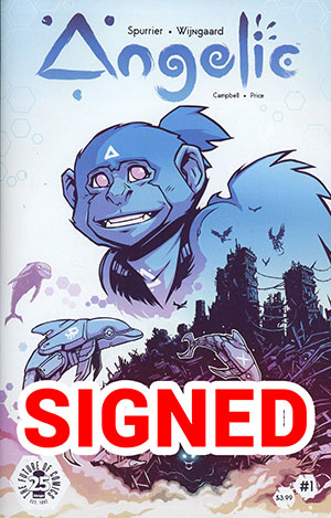 Angelic #1 Cover B Regular Caspar Wijngaard Cover Signed By Simon Spurrier & Caspar Wijngaard (Limit 1 Per Customer)