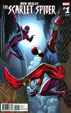 Ben Reilly The Scarlet Spider #1 Cover C Incentive J Scott Campbell Variant Cover