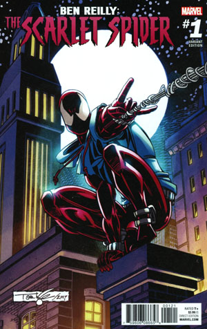 Ben Reilly The Scarlet Spider #1 Cover D Incentive Tom Lyle Variant Cover