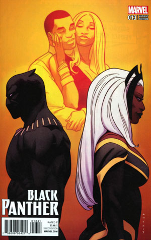 Black Panther Vol 6 #13 Cover E Incentive Kris Anka Variant Cover