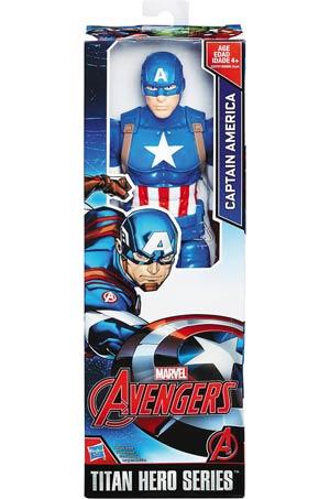 Avengers Titan Hero 12-Inch Action Figure Assortment 201701 - Captain America
