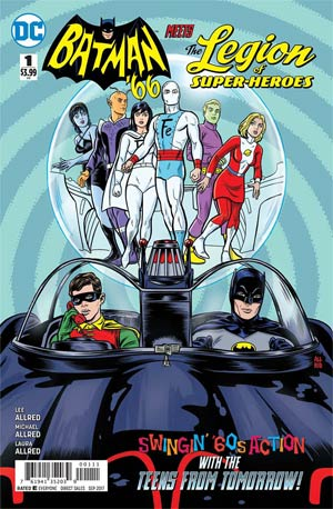 Batman 66 Meets The Legion Of Super-Heroes #1
