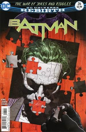 Batman Vol 3 #26 Cover A Regular Mikel Janin Cover