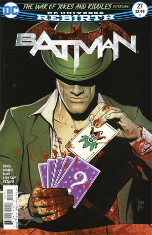 Batman Vol 3 #27 Cover A Regular Davide Gianfelice Cover