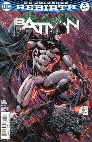 Batman Vol 3 #27 Cover B Variant Tony Daniel Cover